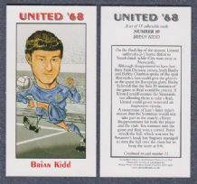Manchester United Brian Kidd England 10